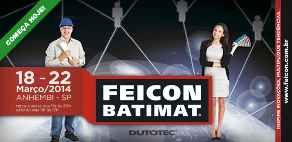 Feicon Dutotec comeca hoje