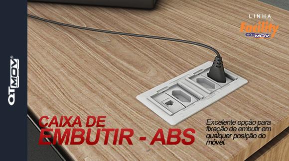 Caixa de Embutir - ABS.fw